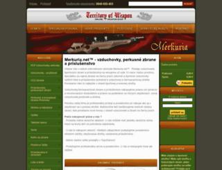 merkuria.net screenshot