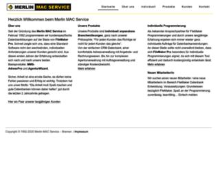 merlin-mac.de screenshot