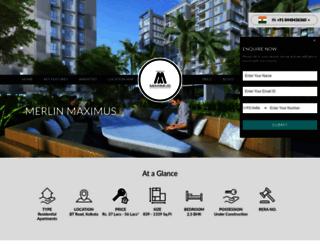 merlinmaximus.in screenshot