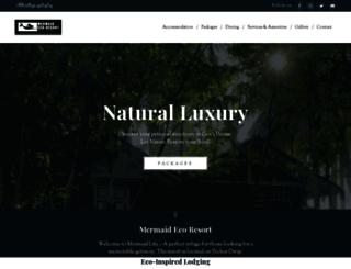 mermaidecoresort.com screenshot