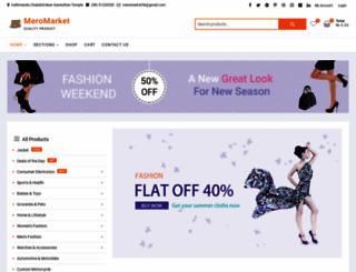 meromarket.com screenshot