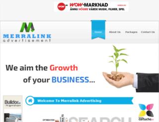 merralinkadvertising.com screenshot