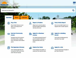 merriam.org screenshot