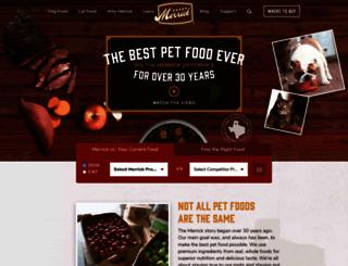 merrickpetcare.com screenshot