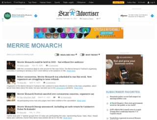 merriemonarch.staradvertiser.com screenshot