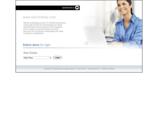merrillshop.com screenshot