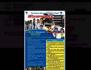 merrylandcollege.com.np screenshot