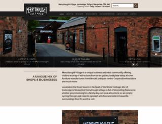 merrythoughtvillage.co.uk screenshot