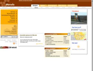 merselo.dorpenvenray.nl screenshot