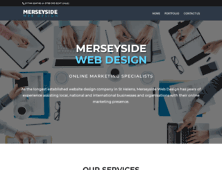 merseysidewebdesign.com screenshot