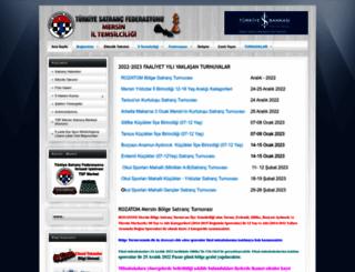 mersin.tsf.org.tr screenshot