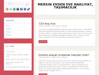 mersinevdenevenakliyati.com screenshot