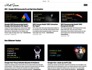 mertsener.com.tr screenshot