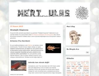 mertulas.blogspot.com.tr screenshot