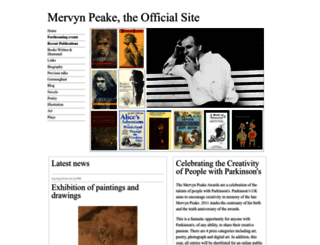 mervynpeake.org screenshot