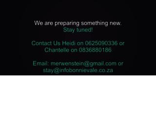 merwenstein.co.za screenshot