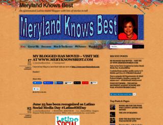 merylandknowsbest.wordpress.com screenshot
