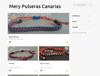 merypulseras-canarias.blogspot.com screenshot