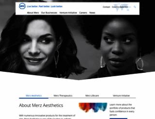 merz.com screenshot