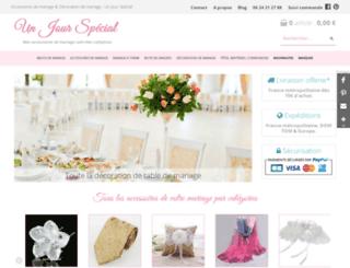 mes-accessoires-mariage.com screenshot