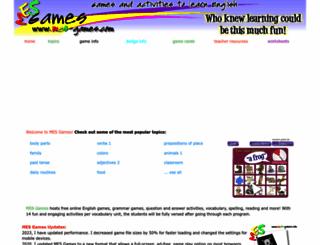 mes-games.com screenshot