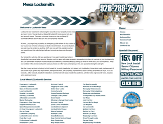 mesa--locksmith.com screenshot