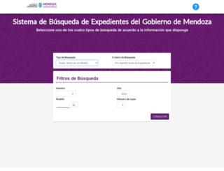 mesas-web.mendoza.gov.ar screenshot