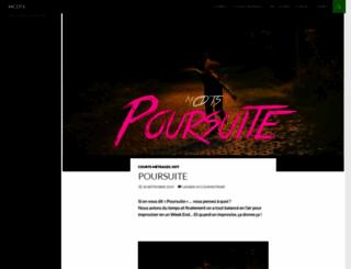 mescouillesdanstonslip.com screenshot