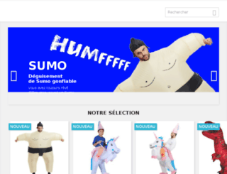 mesdeguisements.com screenshot