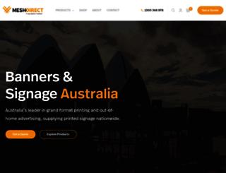 meshdirect.com.au screenshot