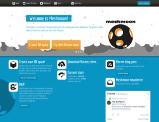 meshmoon.com screenshot