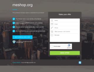 meshop.org screenshot