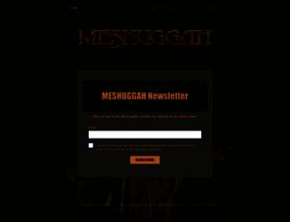 meshuggah.net screenshot