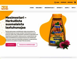 mesimestari.fi screenshot