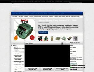 mesin-hitung-uang.blogspot.com screenshot