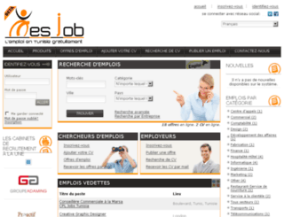 mesjob.com screenshot