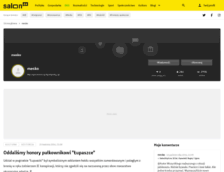 mesko.salon24.pl screenshot