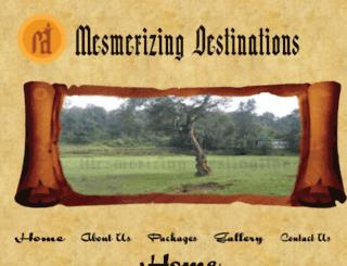 mesmerizingdestinations.com screenshot