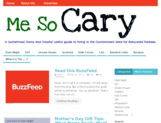 mesocary.com screenshot
