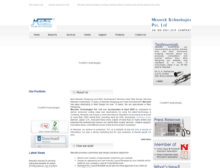 mesotek.net screenshot