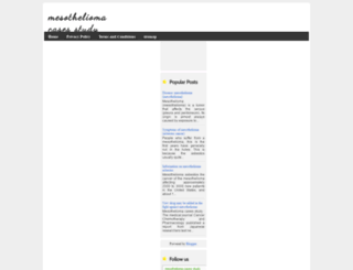 mesotheliomacasesstudy.blogspot.in screenshot