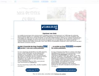 mespetiteslubies.canalblog.com screenshot
