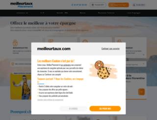 mesplacements.fr screenshot