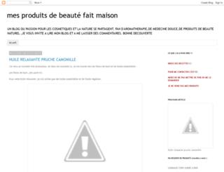 mesproduitsdebeautfaitmaison-letis.blogspot.com screenshot