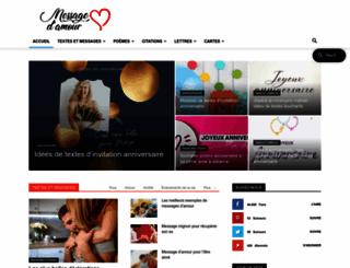 message-d-amour.blogspot.be screenshot