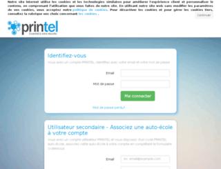 messagerie.printel.fr screenshot