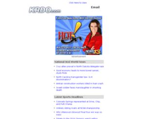 messages.krdo.com screenshot