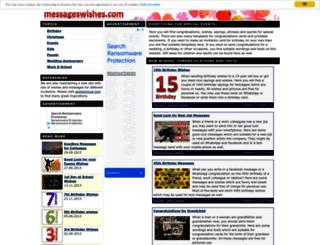 messageswishes.com screenshot