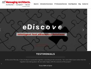 messagingarchitects.com screenshot