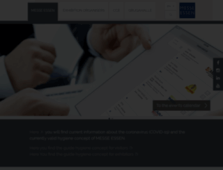 messe-essen.de screenshot